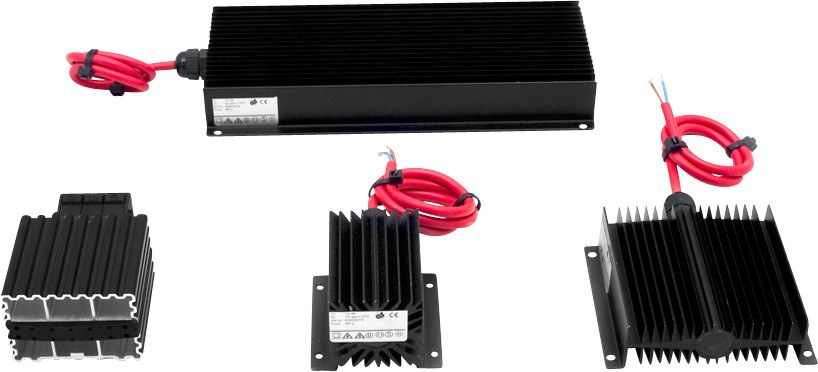 Cabinet heaters - Anti condensation heaters
