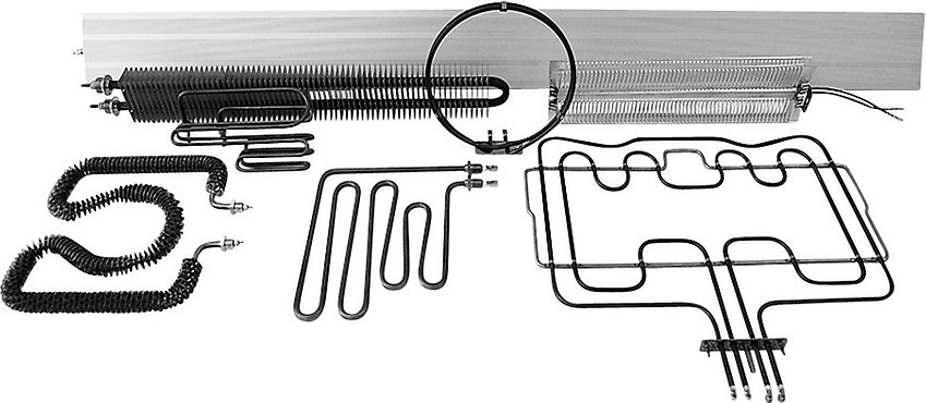 tubular air heating elements